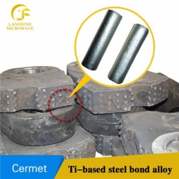 TM52 TiC titanium carbide based cermets steel bonded ferro-tic carbide and alloy rods