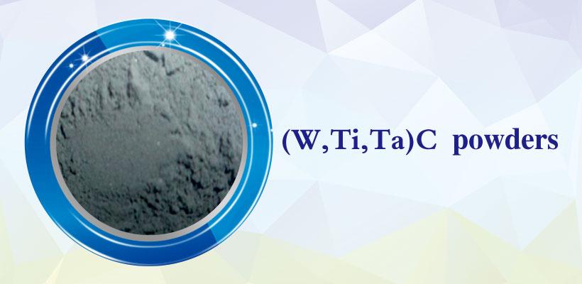 (W, Ti, Ta) C powder products details