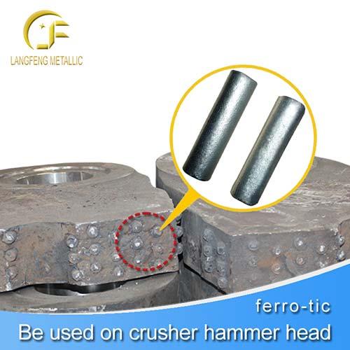 D14x60mm Titanium Carbide TiC Cermets Rod