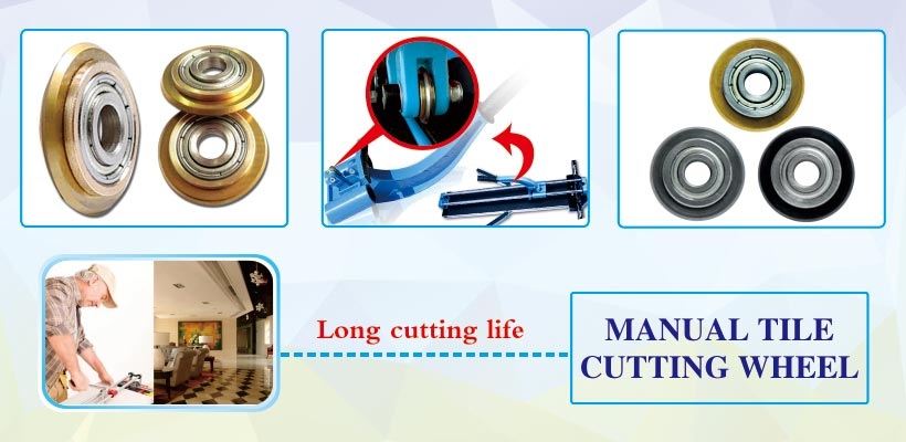 Manual Tile Cutter Tungsten Carbide Replacement scoring tile cutting wheels products details