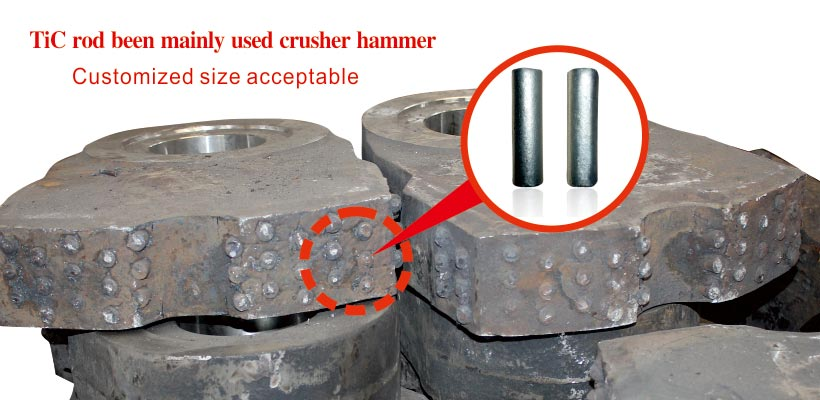 TM52 TiC titanium carbide based cermets steel bonded ferro-tic carbide and alloy rods products applications