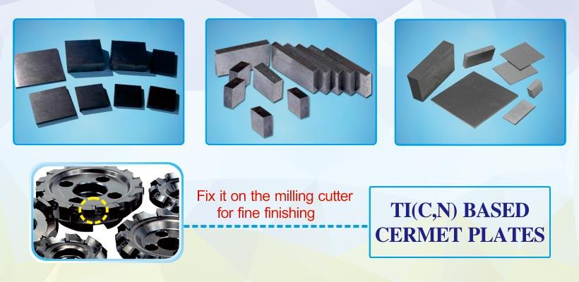 Ti (C, N) titanium carbonitride based cermet plate ticn based cermet inserts bar ingot sheet products details