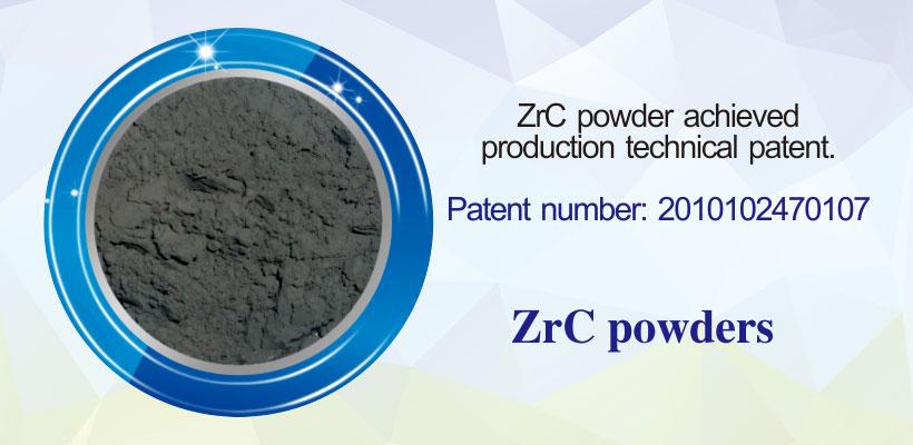 ZrC Zirconium carbide powder products details