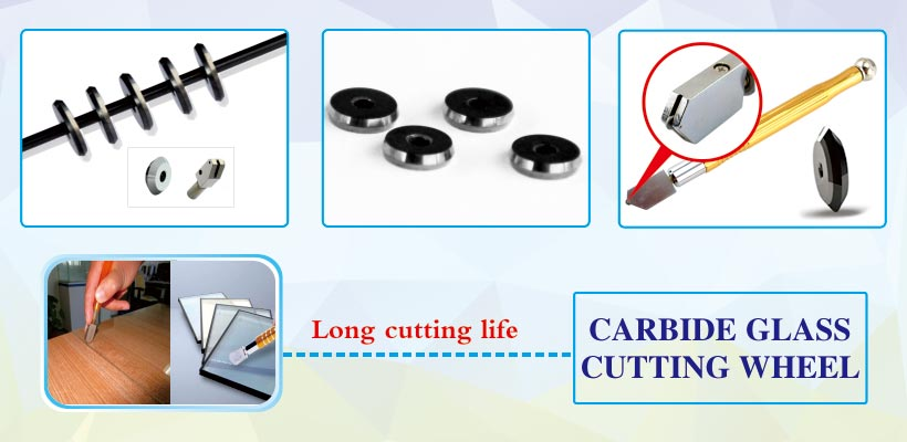 manual glass cutter Tungsten Carbide Replacement scoring glass cutting wheels products details